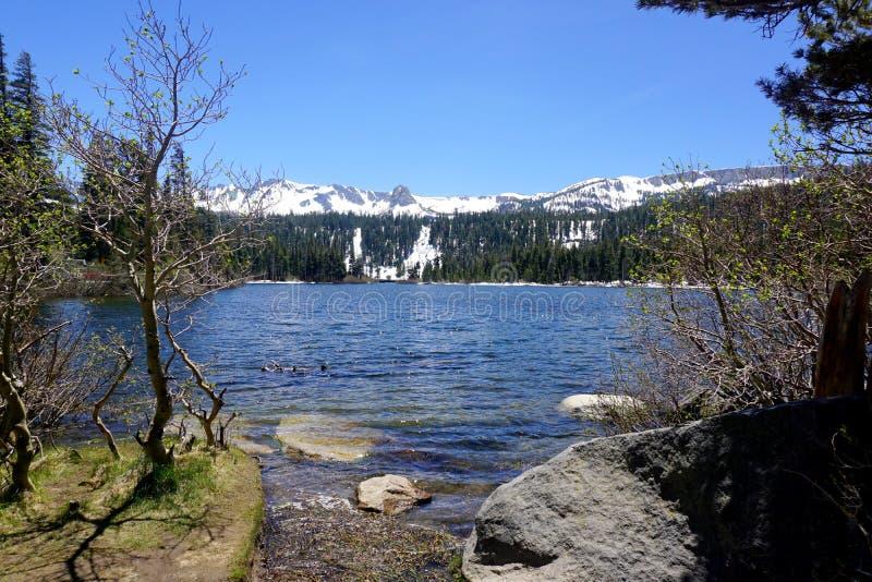 June lake stock photo. Image of campground, lake, camping ...
