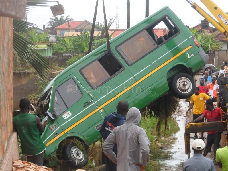 June 3rd flooding, Accra, Ghana royalty free stock photos