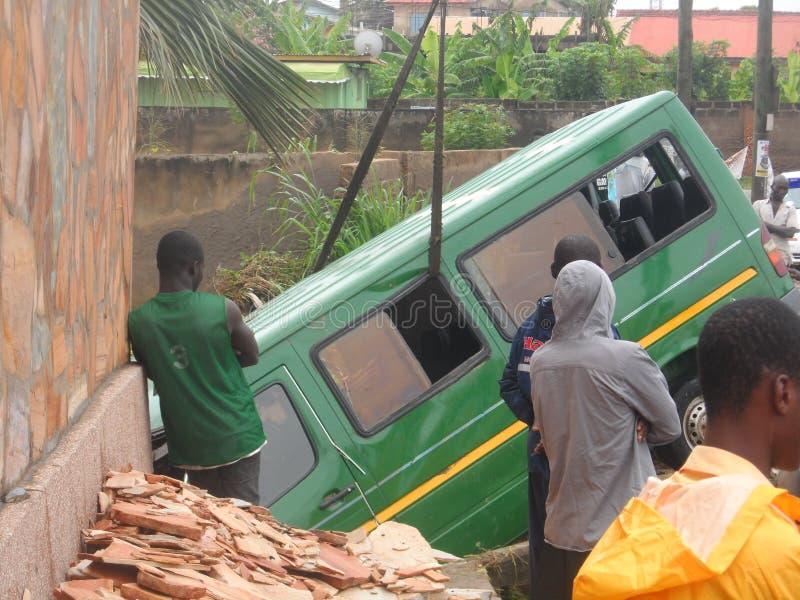June 3rd flooding, Accra, Ghana stock photos