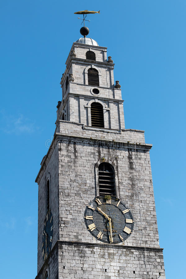 June 6th, 2017, Cork, Ireland - St. Anne`s Church & Shandon Bells Tower royalty free stock photography