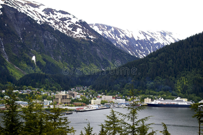 Juneau lizenzfreie stockfotos