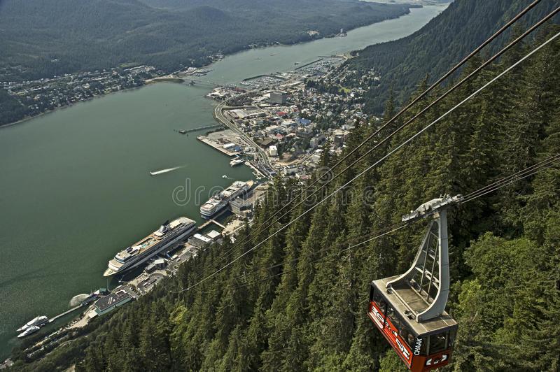 Juneau Alaska imagens de stock