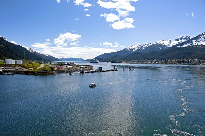 Juneau Alaska fotografering för bildbyråer