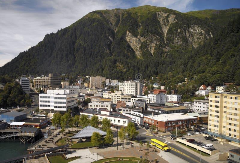 Juneau in Alaska - de V.S. royalty-vrije stock foto's