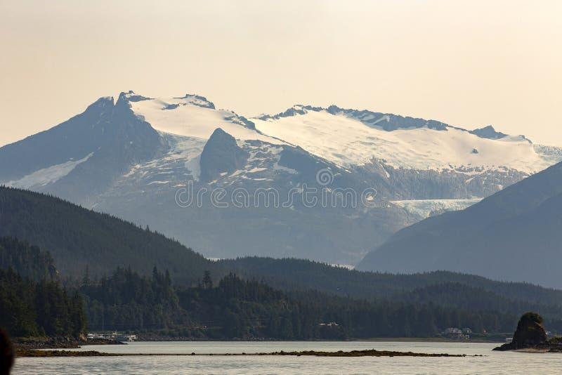 Juneau, Alaska, U.S.A. fotografie stock libere da diritti