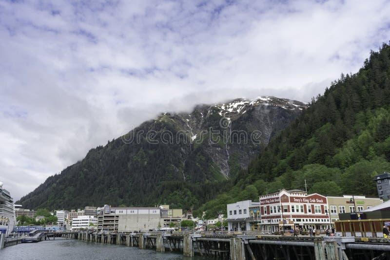 Juneau van de dokken royalty-vrije stock afbeeldingen