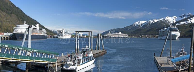 Juneauhaven stock afbeelding