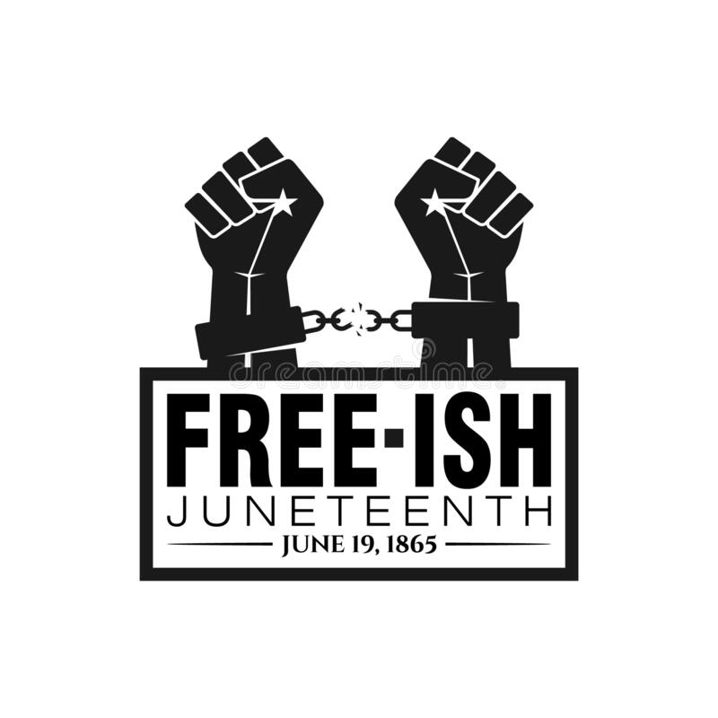 Free Juneteenth Freedom Day. June 19, 1865. Royalty Free Stock Photo - 221009555
