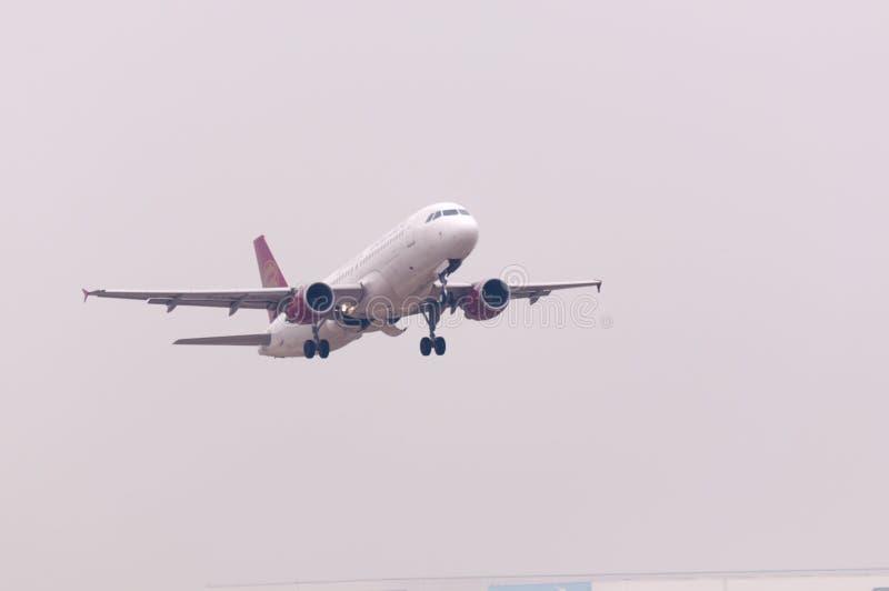 Juneyao Airlines plane stock photo