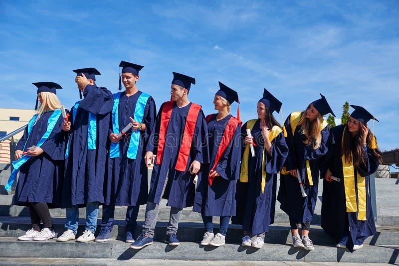 JungakademikerStudentengruppe lizenzfreies stockbild