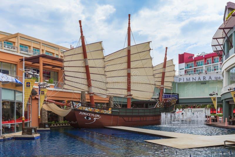 Jungceylon zakupy centrum handlowe w Patong plaży obraz royalty free
