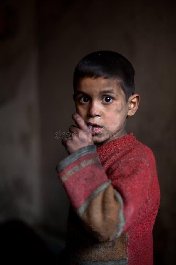 Junge, Aleppo, Syrien. lizenzfreie stockbilder