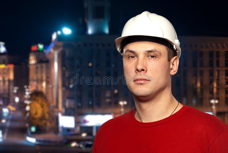 Junge Arbeitskraft stockfoto