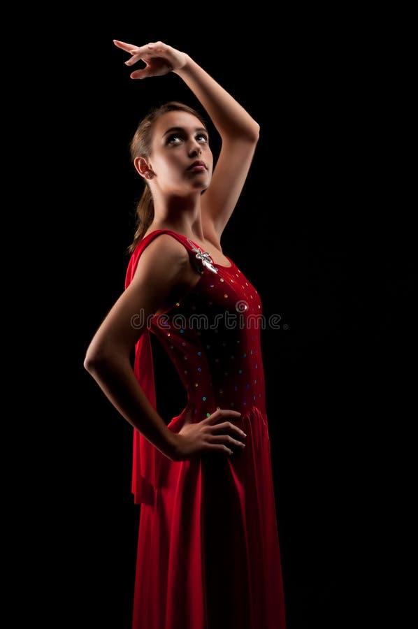 Junge Ballerina lizenzfreie stockfotografie