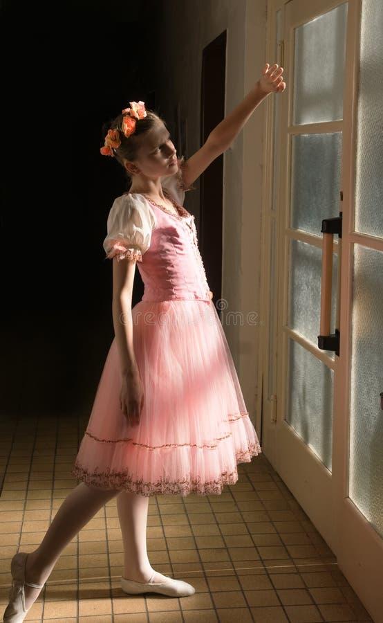 Junge Ballerina stockbild