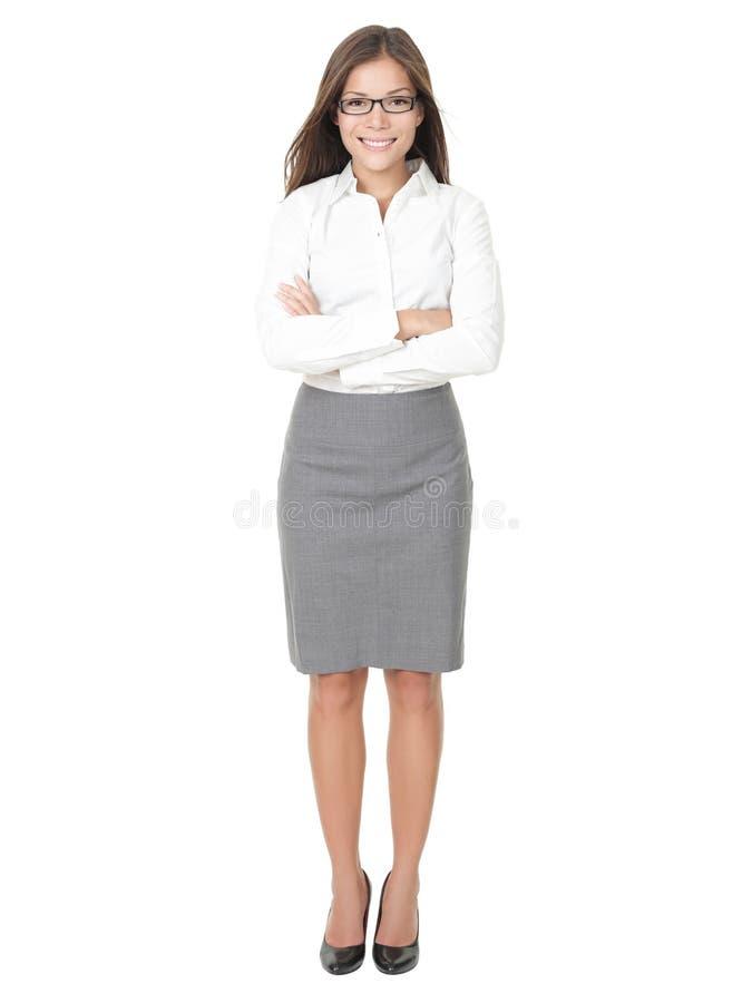 Junge Berufsfrau lizenzfreie stockfotos