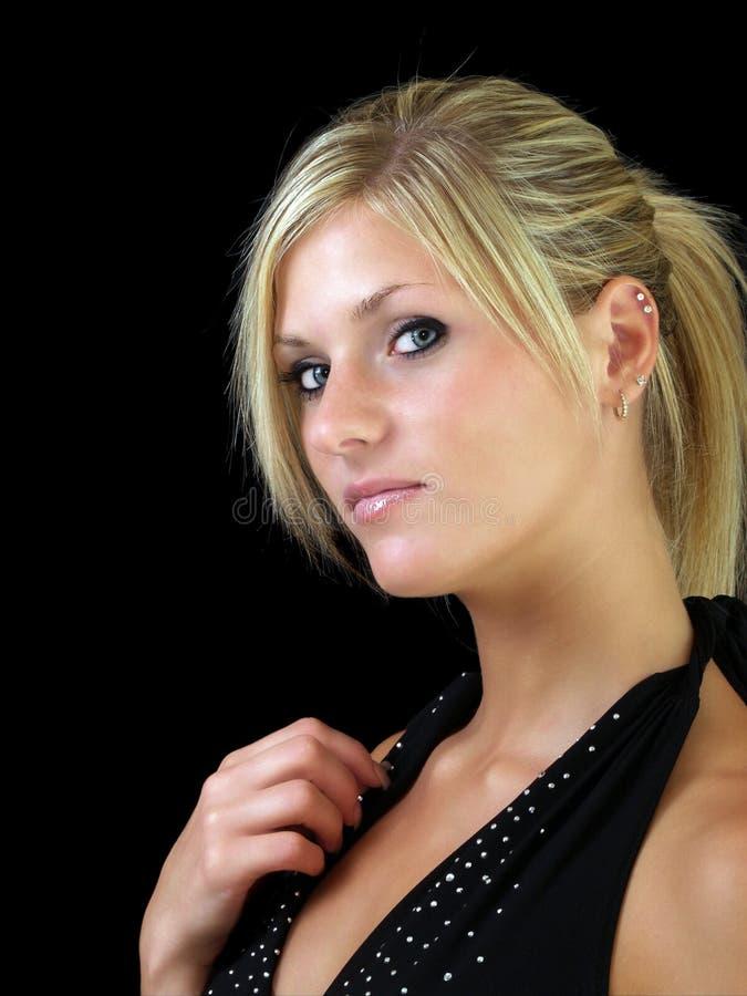 Blonde Junge Frau