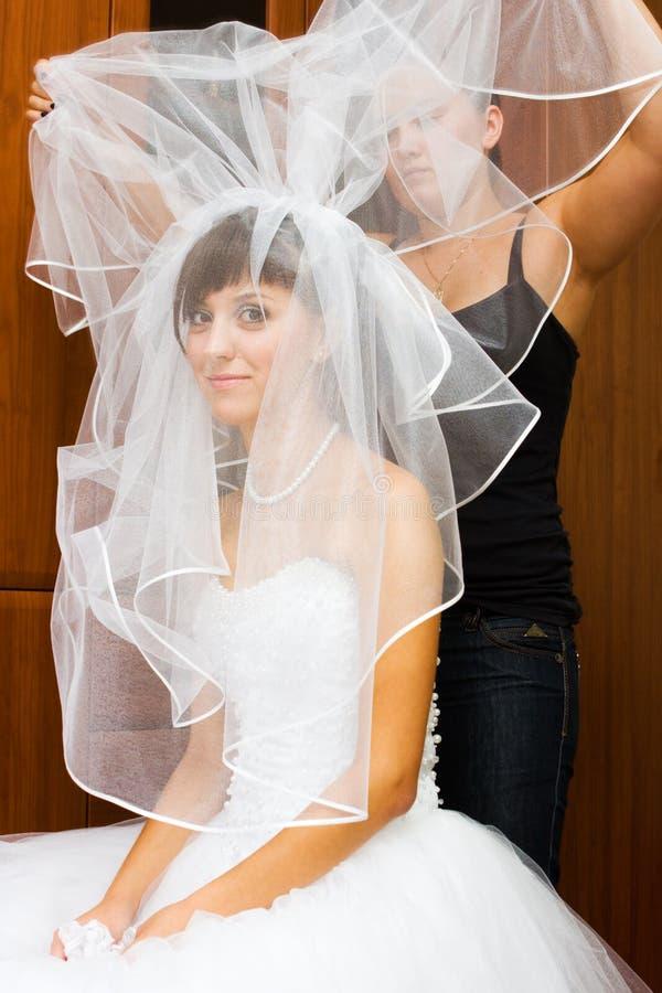 Junge Braut lizenzfreies stockfoto