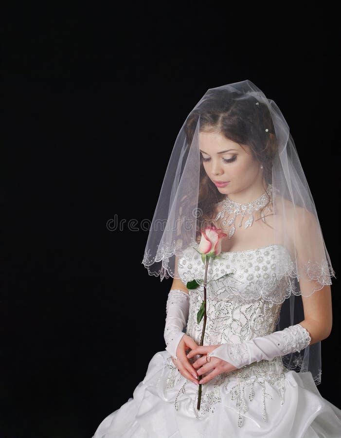 Junge Braut lizenzfreie stockfotografie