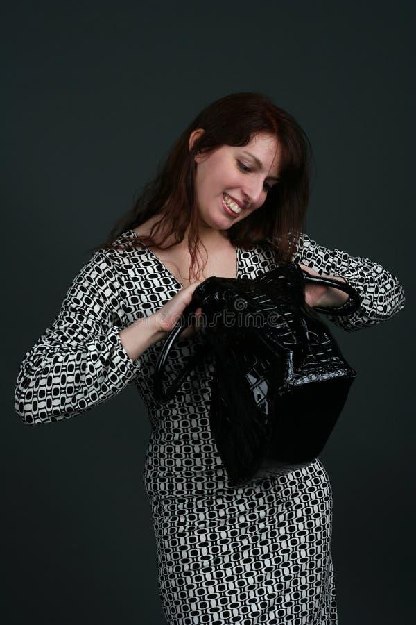 Junge Brunettefrau stockfotos