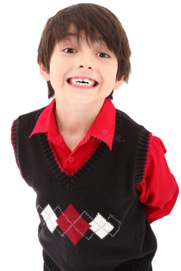 Junge in der Klage stockbilder