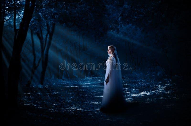 Junge elven Mädchen stockbilder