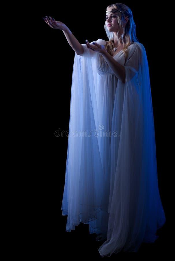 Junge elven Mädchen stockfoto