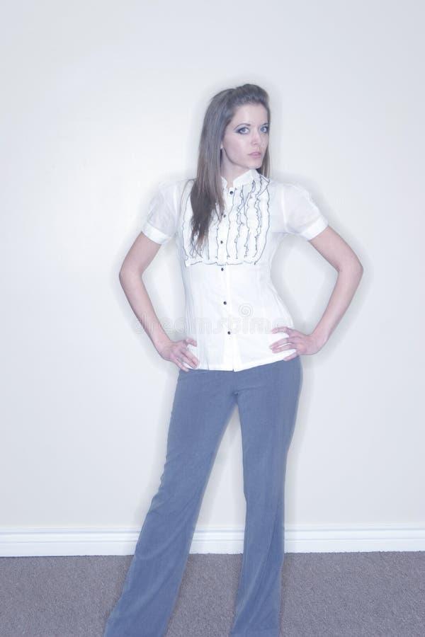 Junge erwachsene Frau stockfoto