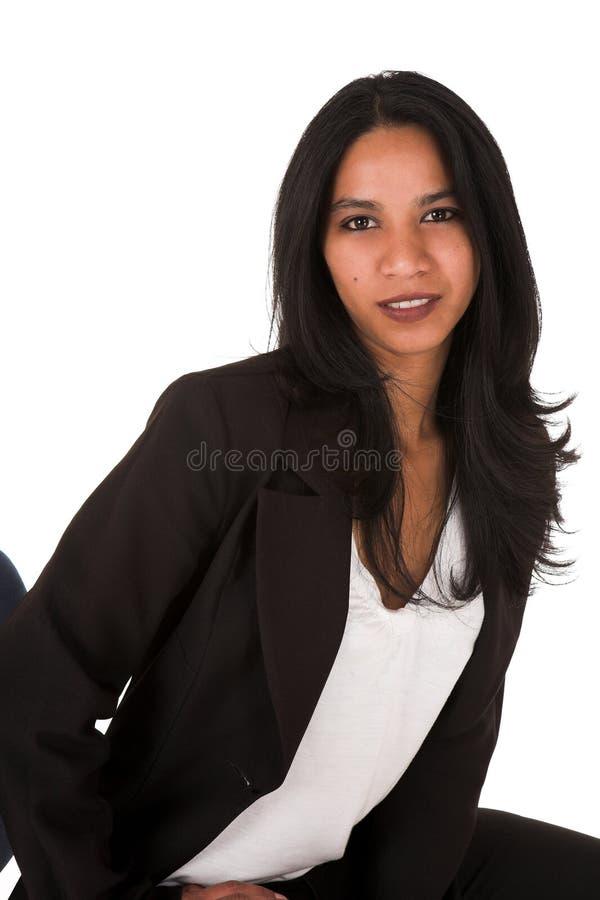Junge erwachsene Geschäftsfrau lizenzfreies stockbild