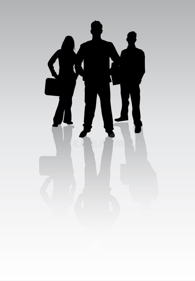 Junge Fachleute lizenzfreie abbildung