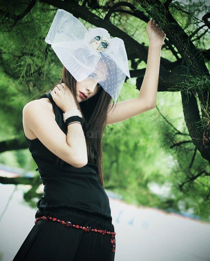 Junge Frau stockfotografie