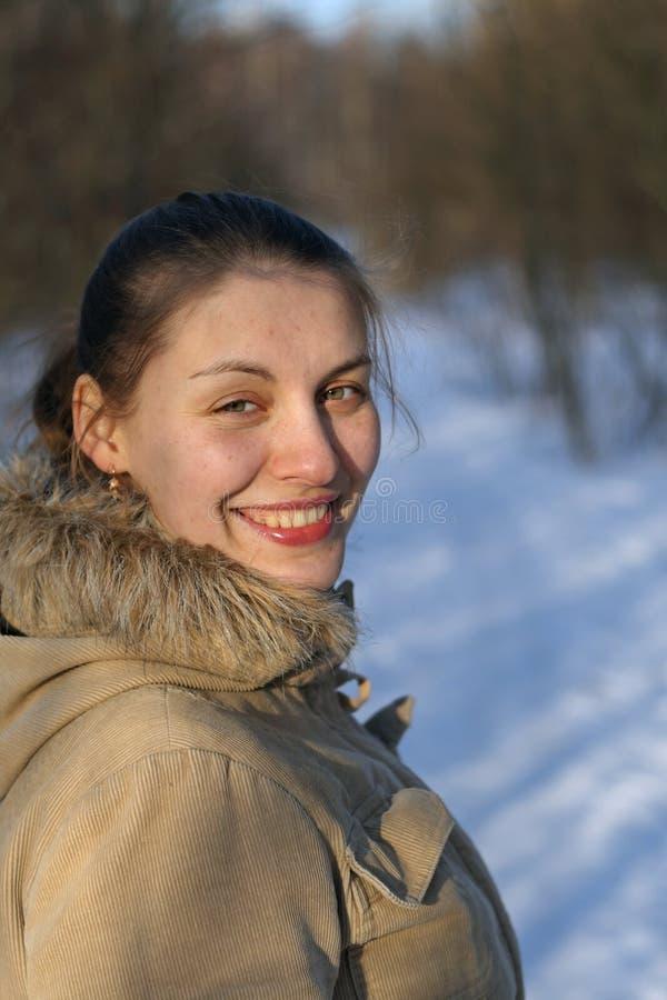 Download Junge Frau stockbild. Bild von haube, nett, kühl, menschlich - 12202103