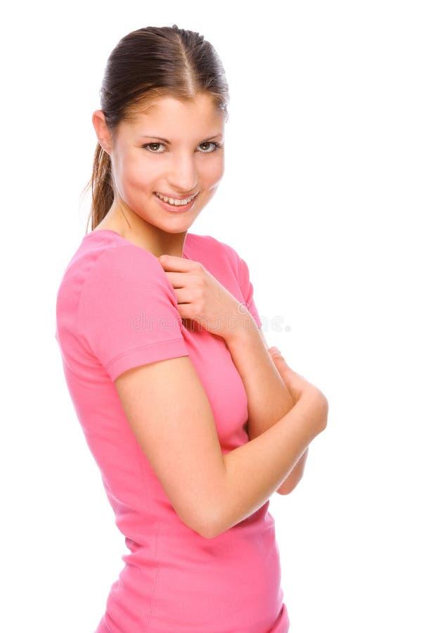 Junge Frau lizenzfreie stockbilder