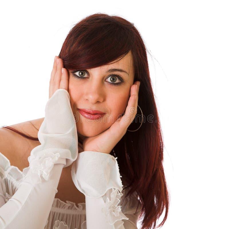 Jente Frau: Moderne Junge Frau Stockbild. Bild Von Verfassung, Nett