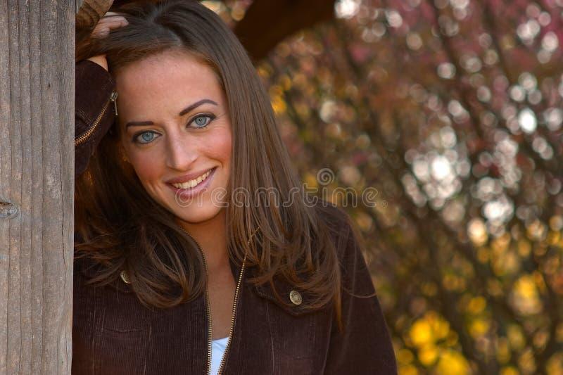 Junge Frau 20 stockbild