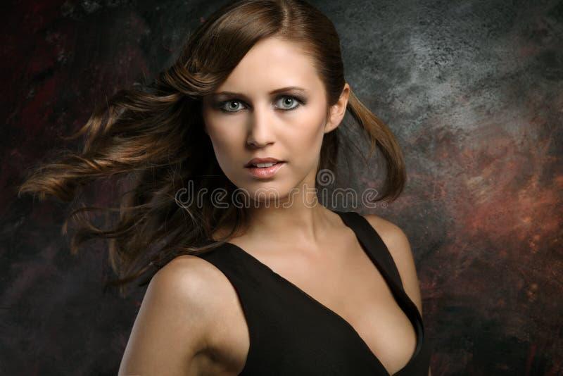 Junge Frau stockfoto