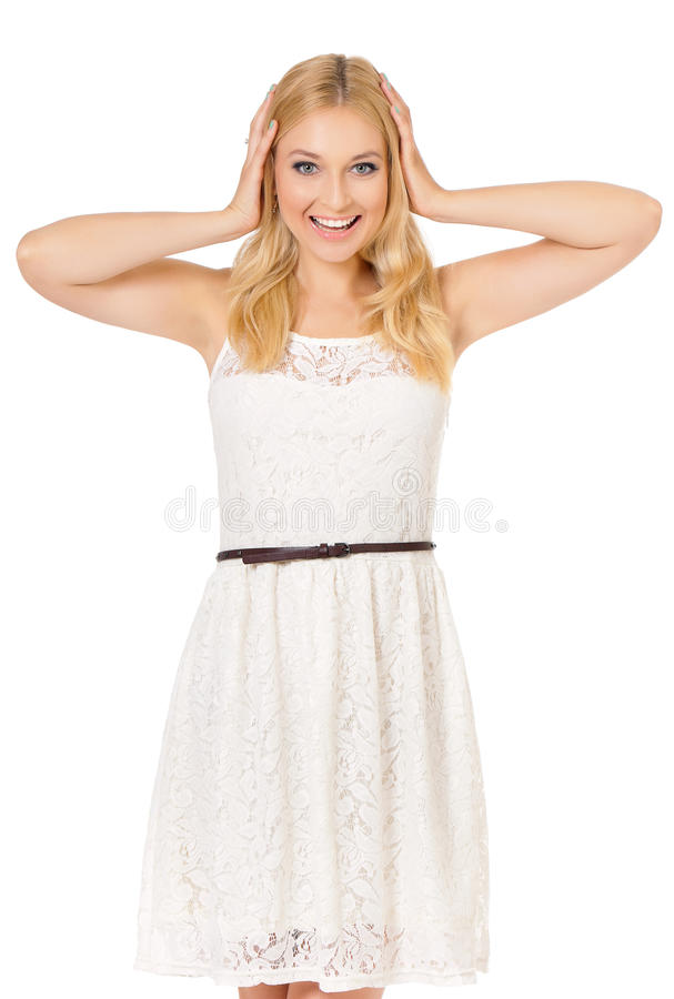 Junge Frau 15 stockfoto
