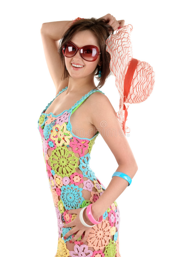 Download Junge Frau In Den Sonnegläsern Stockfoto - Bild von attraktiv, brunette: 9086194