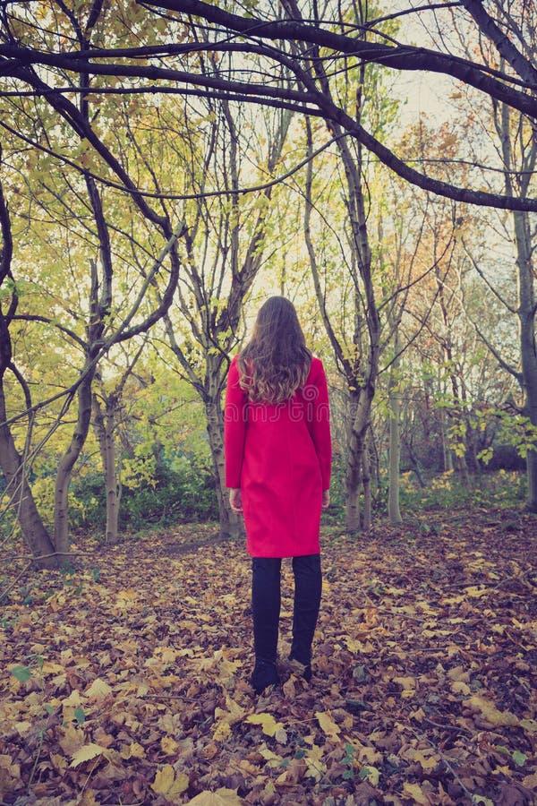 Junge Frau, die nicht mit Geistes-helth Fragen fertig wird lizenzfreie stockfotografie