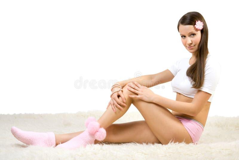 Junge Frauen Der Schönheit Lizenzfreie Stockfotos
