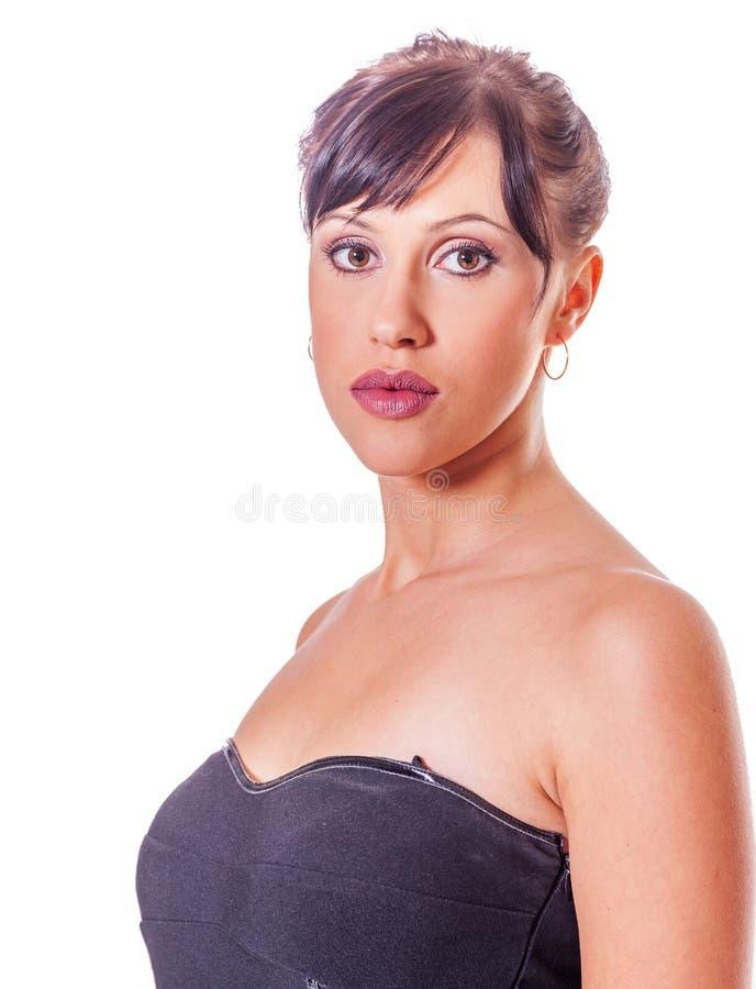 Junge Frauen-Porträt stockfotos