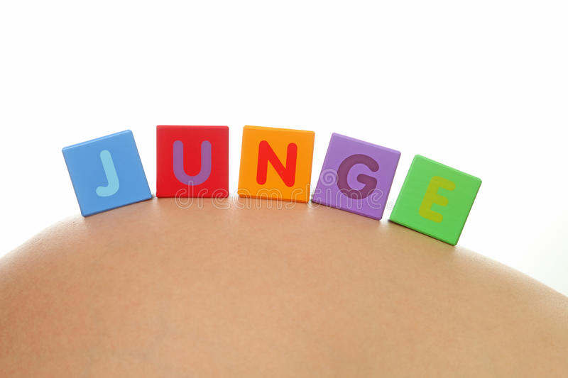 Download JUNGE (German for boy) stock photo. Image of white, letters - 15934734