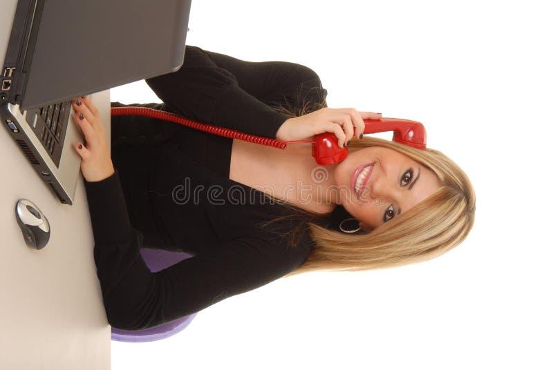Junge Geschäftsfrau 11 stockbild
