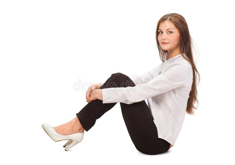Junge Geschäftsfrau stockfoto
