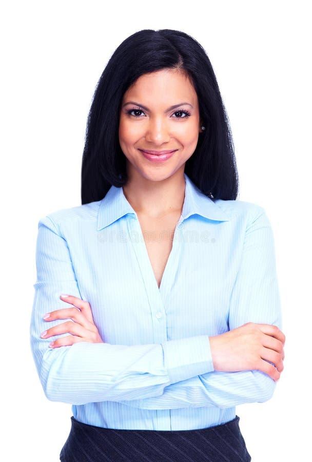 Junge Geschäftsfrau. lizenzfreies stockfoto
