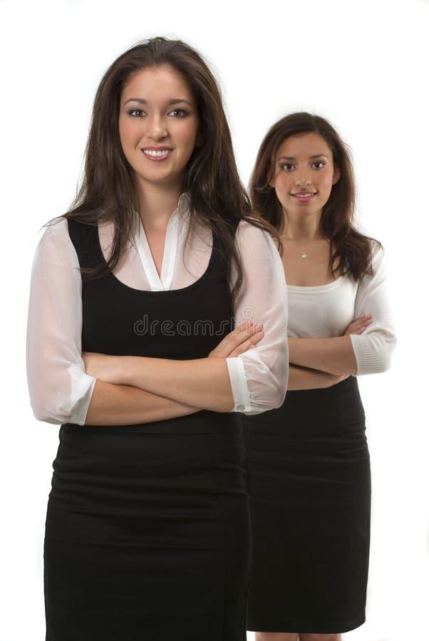 Junge Geschäftsfrauen stockfotografie