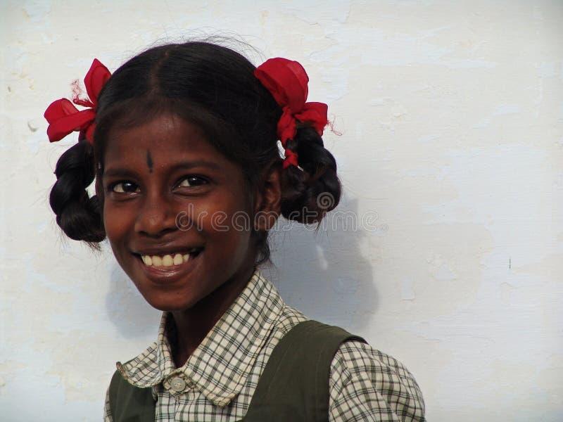 Junge girly in Südindien lizenzfreies stockfoto