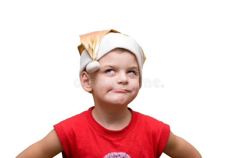 Junge im Hut stockfotos