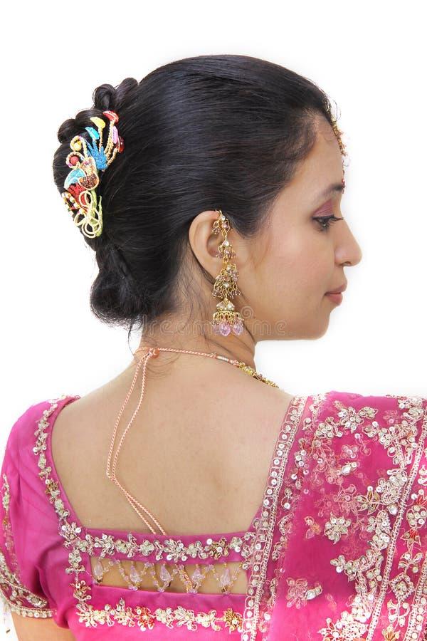 Junge indische Braut lizenzfreie stockfotografie