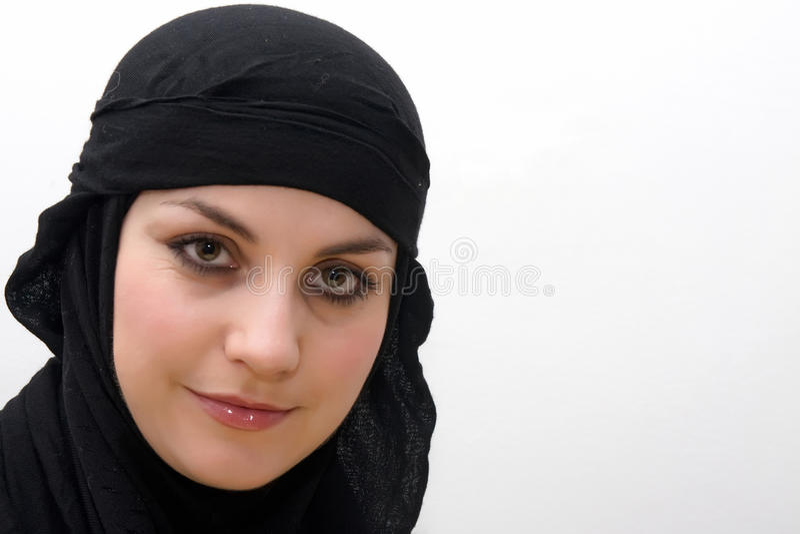 Junge islamische Frau lizenzfreies stockfoto